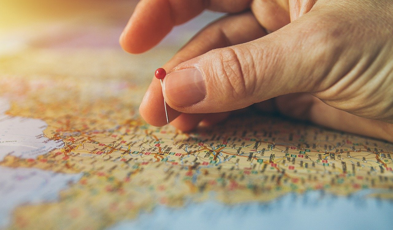 travel, pinned, pinning-TheLocationTracker