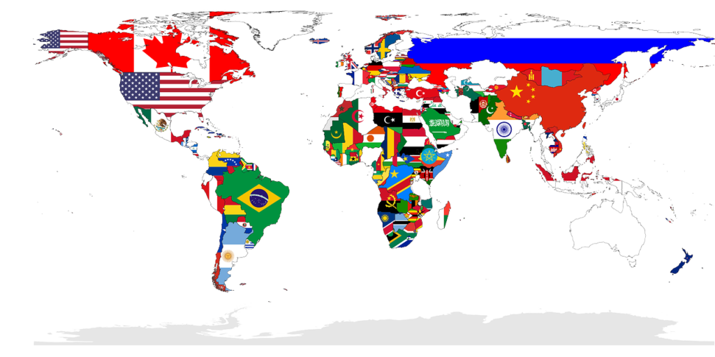world, map, countries-TheLocationTracker
